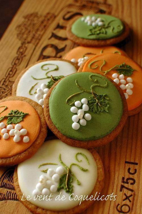 Autumn cookies on Julia usher site