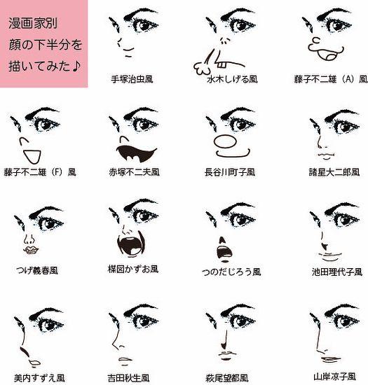 tomoko misumiさんはinstagramを利用しています 最近眼精疲労がひどいのでキューピーコーワiプラスを買ったらイラストの目ヂカラが半端なくて思わず遊んでしまいました こういうところは子どもの頃から変わんないなあ 顔の下半分を漫画家別に描いてみたら これを見