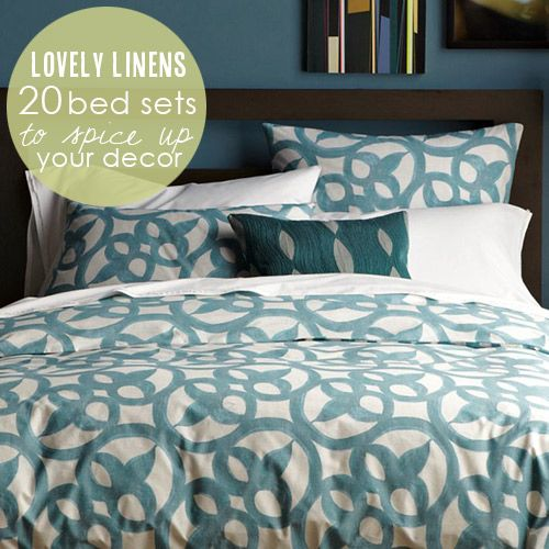 20 beautiful bedding sets that will spice up your decor from Babble.com