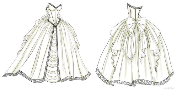 Drawing Fashion Designs for Girls | wedding dress design 1 by noflutter manga anime digital media drawings ...