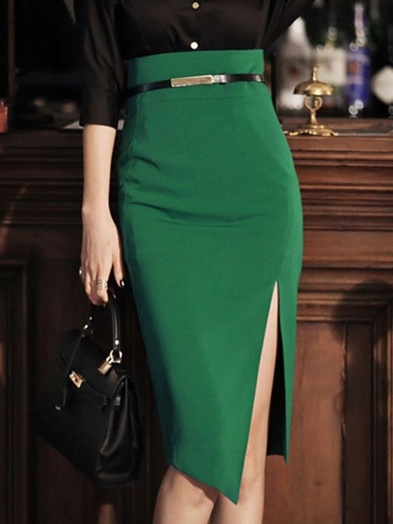 Trendy High Waist Skirts