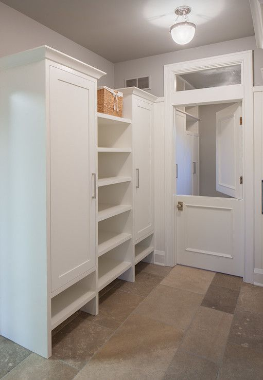 Mudroom Wall Storage Ideas : Scott christopher homes laundry mud rooms stone floor
