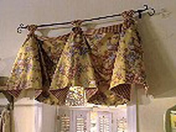 valances window treatments | French Country Curtains: 6 Real ...
