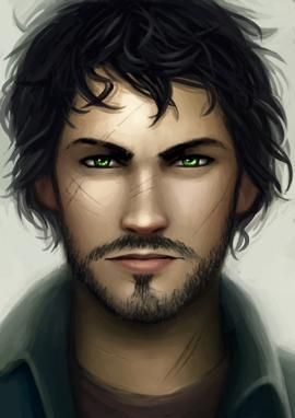 Ze'ev Kesley Portrait from The Lunar Chronicles by Marissa Meyer