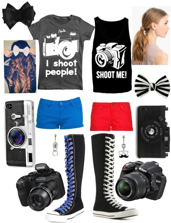 """Picture taking time!!!"" by the-purple-unicorn ❤ liked on Polyvore"