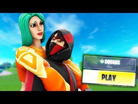 Picking Up Girls With New Ikonik Skin In Squad Fill Youtube Epic Games Fortnite Fortnite Thumbnail Fortnite