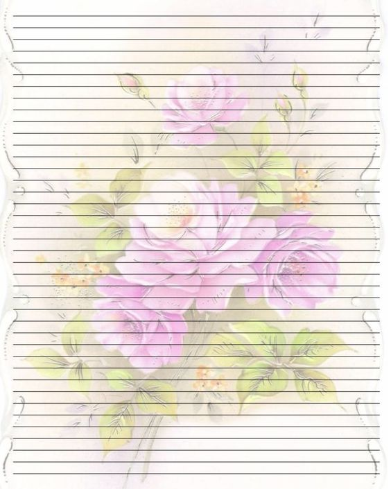 Printable Writing Paper (185) by u003dLady-Valentine-Art on deviantART - college ruled lined paper template