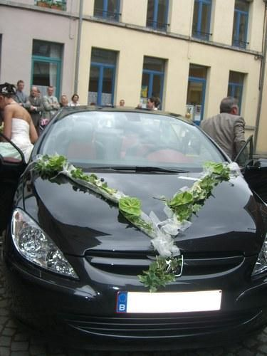 decoration voiture de mariage voiture pinterest. Black Bedroom Furniture Sets. Home Design Ideas