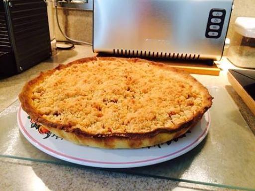 Tarte crumble aux pommes - Recette de cuisine Marmiton : une recette