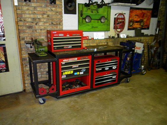 Home Made Rolling Tool Storage Homemade Tool Box