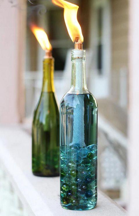 46+ Empty bottle decoration ideas ideas