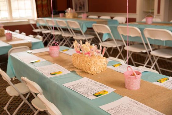 Coloring activity at a cowgirl birthday party! See more party planning ideas at CatchMyParty.com!