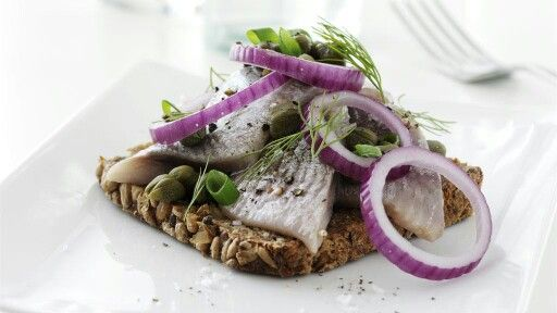 Traditional Danish smørrebrød dates back to the 19th century