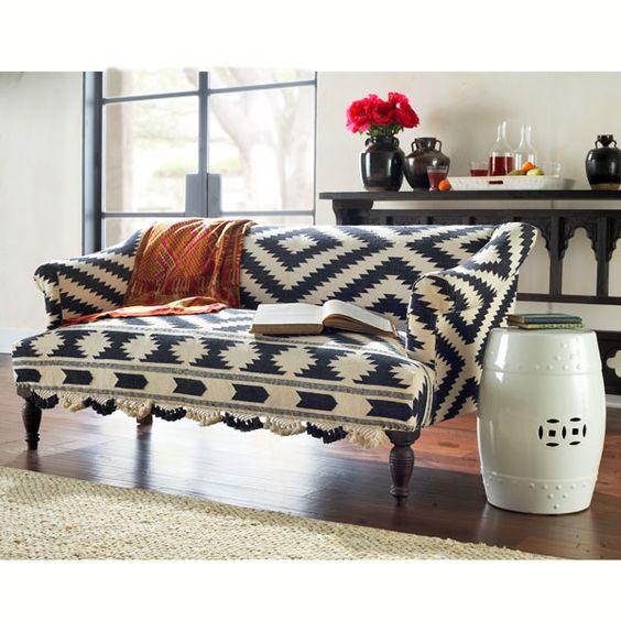 love this fabric on sofa