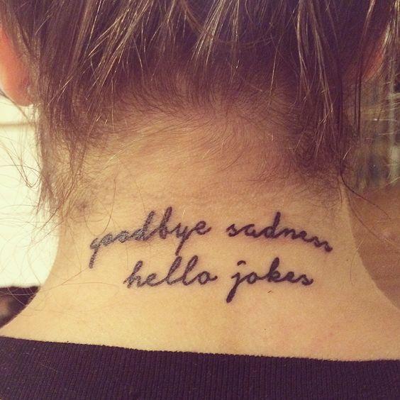 My New Bo Burnham Tattoo