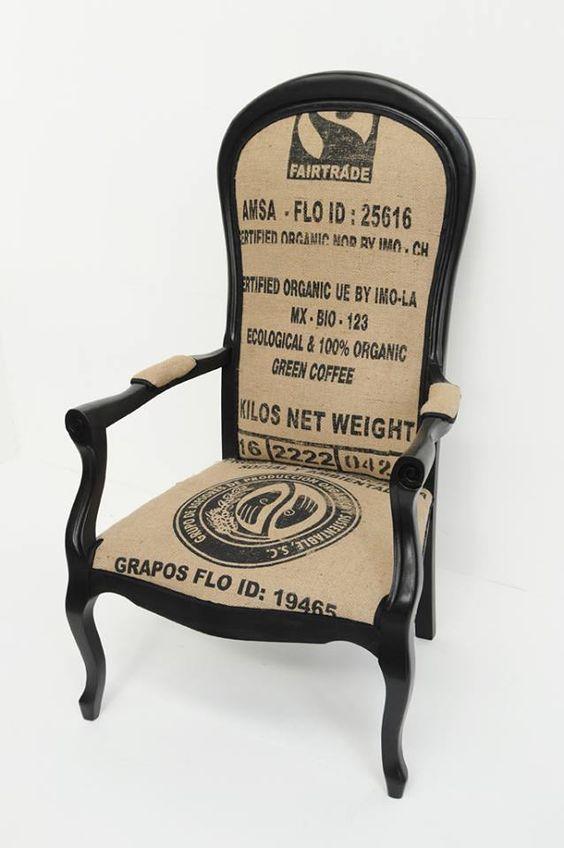 voltaire fa on sacs caf par atelier d 39 co solidaire r cup 39 cr ative pinterest atelier. Black Bedroom Furniture Sets. Home Design Ideas