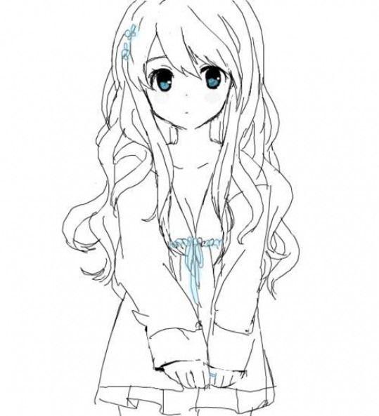 Pin On Manga Girl