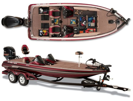 I 39 d love for bill to have a brand new bass boat so we for Fishing boat brands