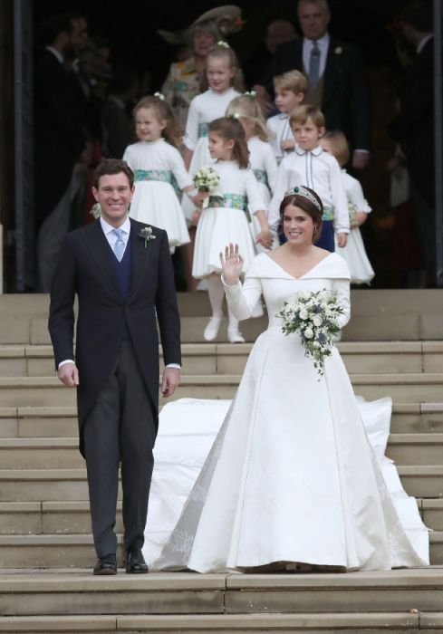 Princess Eugenie S Beautiful Wedding Dress The Photos The Designer And Her Bridal Accessories Royal Wedding Dress Eugenie Wedding Royal Wedding Gowns