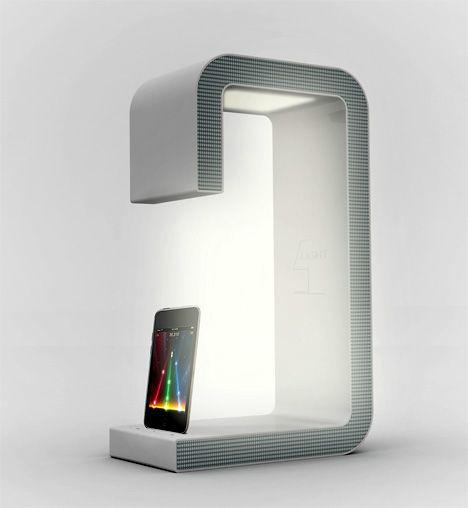 iPod Dock + Speaker + Bed Light by Sang hoon Lee » Yanko Design: