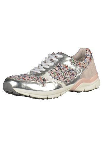 #TAMARIS #Damen #Sneaker #silber Angesagte Sneaker von Tamaris in modischem…