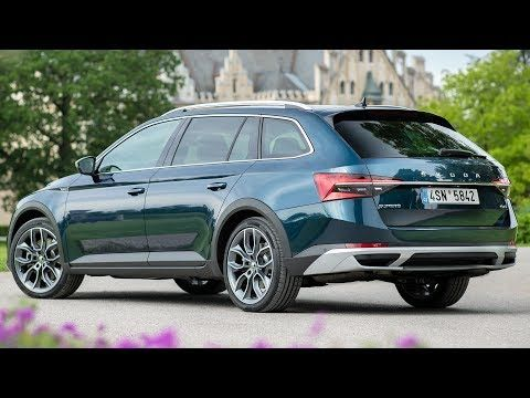 Video 2020 Skoda Superb Scout Stylish Multifunctional Estate