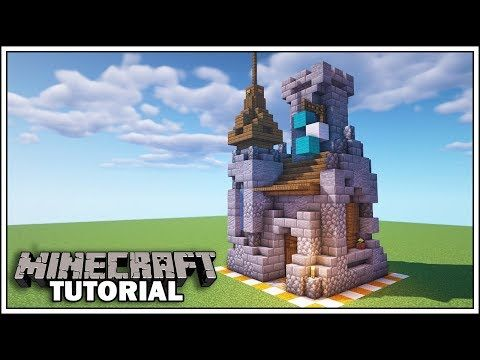 Minecraft 8x8 Castle Tutorial How To Build Youtube Minecraft