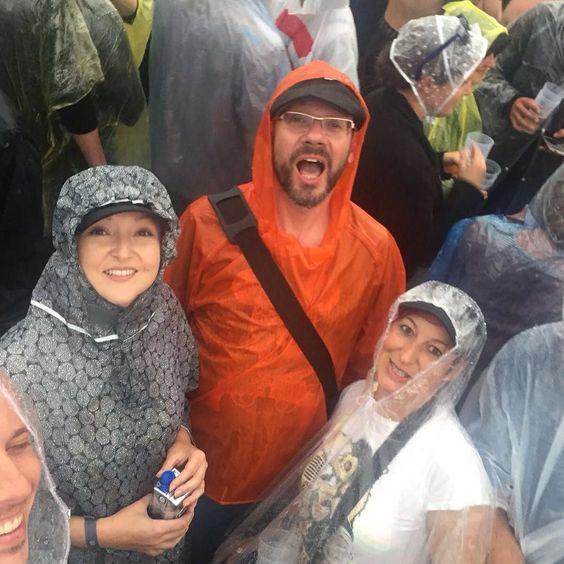 Ein bisschen Regen kann uns ja nicht die Laune verderben #RIP2016
