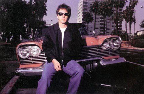 Photo of Izzy Stradlin  - car