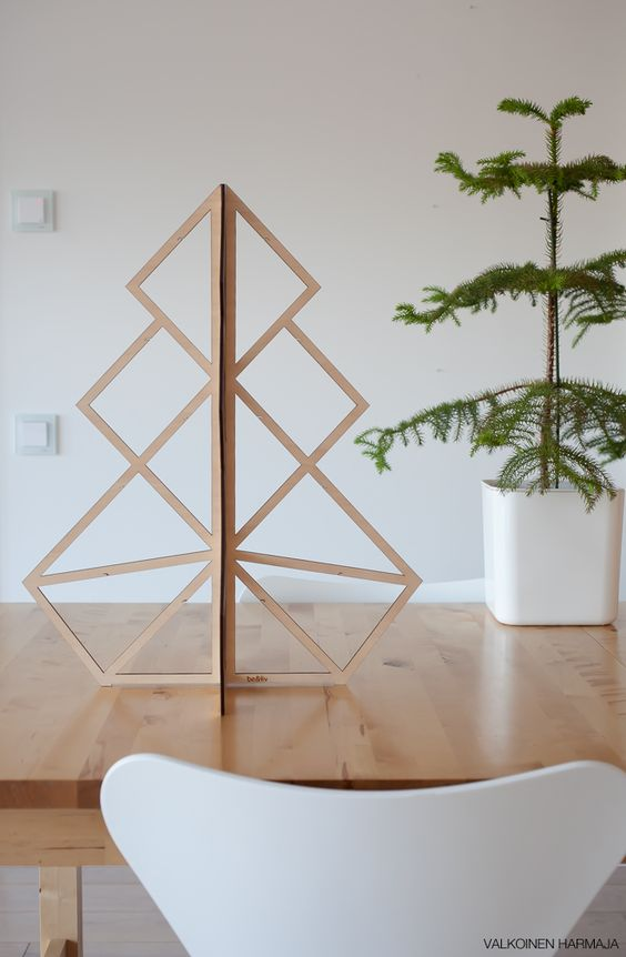 Pinterest the world s catalog of ideas for Plywood christmas tree