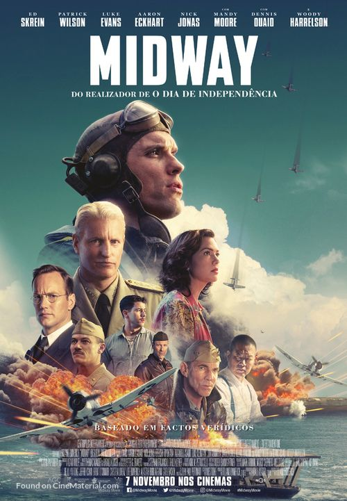 Midway (2019) BluRay Dual Audio [Hindi (ORG 2.0) & English] 1080p 720p 480p