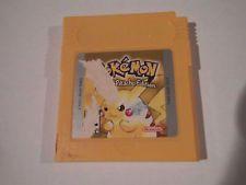 Pokemon Yellow Version SAVES!! - Pikachu Edition (Nintendo Game Boy 1999)  get it http://ift.tt/2d9b1MI pokemon pokemon go ash pikachu squirtle