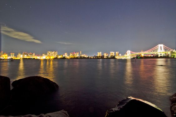 Tokyo Bay At Night. #travel #photography #adventure