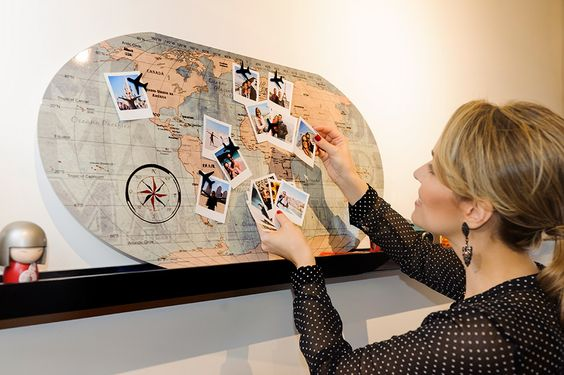 this world map board!