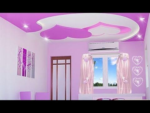 ديكورات جبس بورد 2019 اسقف وحوائط ديكورات جبسية لشقق روعه Youtube Pop False Ceiling Design Ceiling Design Pop Ceiling Design