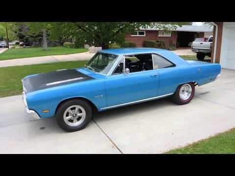 Original 1969 Dodge Dart Gts M Code Video Review Dodge Dart