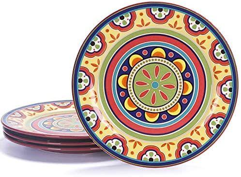 bico tunisian ceramic dinner plates set