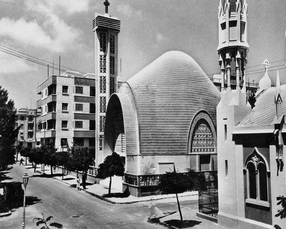 Ste-Therese, Port-Said (Égypte), architecte: Naoum Shebib (1948)