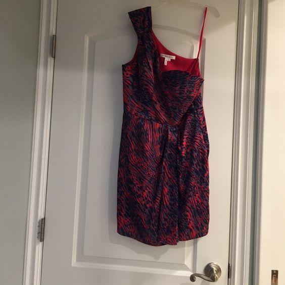 Dress One shoulder day or evening dress. Worn once. BCBGeneration Dresses One Shoulder