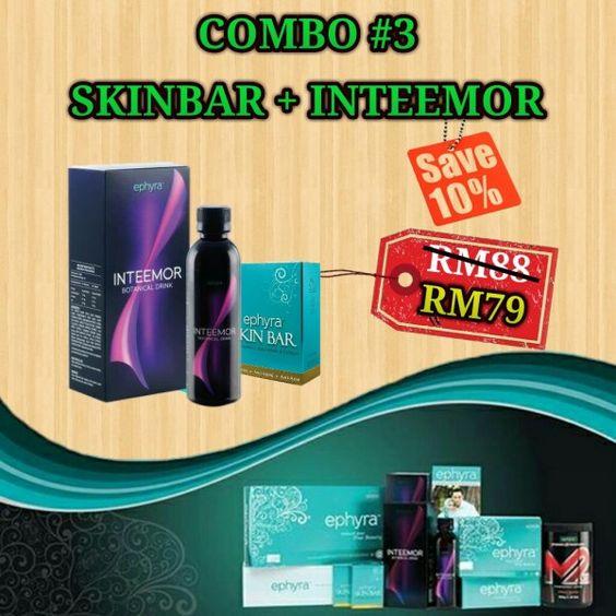 "Get this fabolous item ""Combo 3 (Skinbar + Inteemor)"" @ http://ephyra.my/item/8-combo-3-skinbar-inteemor?id=33213"