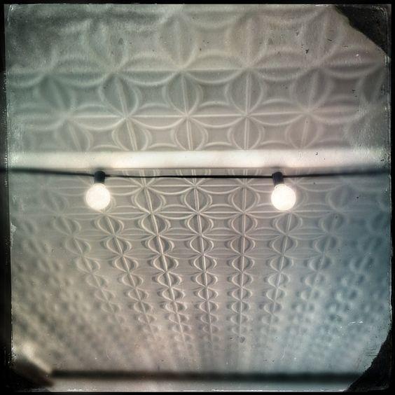 pressed metal ceiling