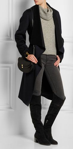 MICHAEL MICHAEL KORS Paulette Suede Over-the-knee Boots Ways to wear over the knee boots