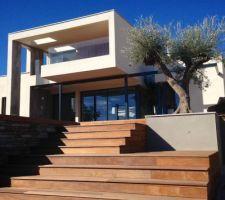 [Sète] - Maison contemporaine en bois : on est dans la place ;) : les photos de la construction - ForumConstruire.com