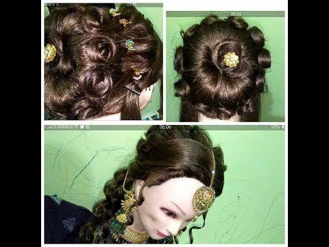 Youtube Easy Bun Hairstyles Hair Hacks Simple Wedding Hairstyles