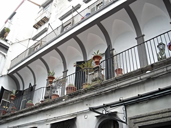 Balcony 18th century - Mansion at Via Costantinopoli in Na… | Flickr - Photo Sharing!