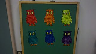 Whoo's Missing? #flannelfriday #flannelboard #birds #colors #game #cslp2012 #forest