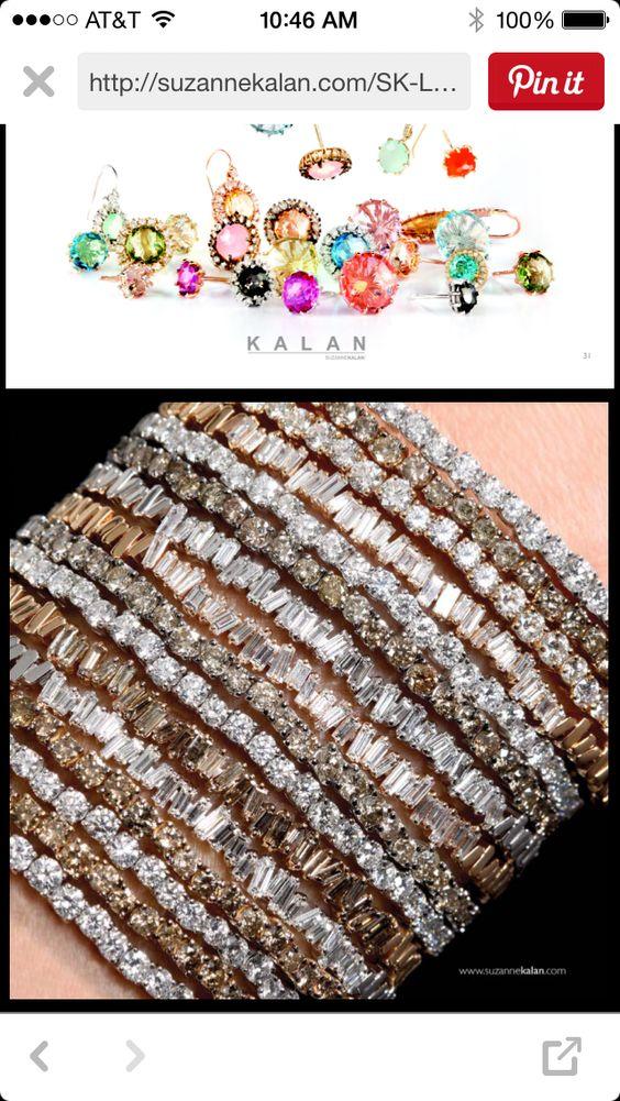 Suzanne Kalan Fireworks bracelets