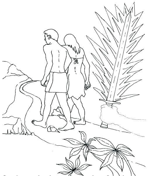 Image Result For Adam And Eve Disobey God Coloring Page Historias De La Biblia Para Ninos Biblia Para Ninos Adan Y Eva