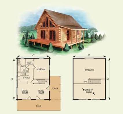 New House Simple Small Cabin 68 Ideas Log Cabin Floor Plans Small Cabin Plans Log Home Floor Plans