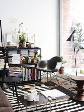 L'appartement du designer Heilam Choy à Collingwood (Australie) sur the design files